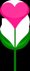 heart flower clip art at clker com vector clip art online royalty rh clker com