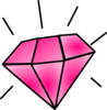 Pink Diamond Clip Art