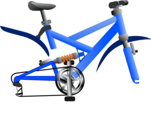 Bike No Wheel Clip Art