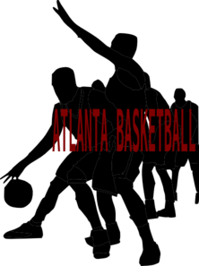 Atlanta Basketball  Clip Art