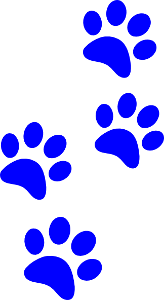 Black Paws Clip Art at Clker.com - vector clip art online, royalty ...