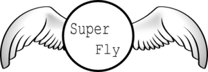 Super Fly Lip Butter Clip Art
