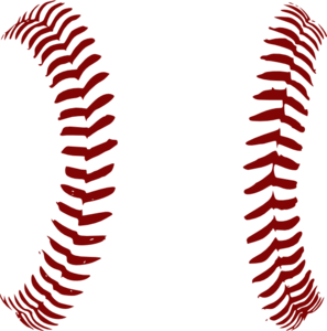 red softball laces only clip art at clker com vector clip art rh clker com heart with baseball stitches clipart heart with baseball stitches clipart