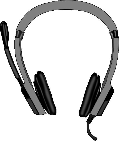 head set clip art at clkercom vector clip art online