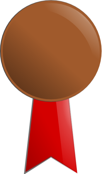 Bronze Medal Clip Art at Clker.com - vector clip art ...