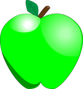 green apple clip art at clker com vector clip art online royalty rh clker com green apple clipart images red green apple clipart