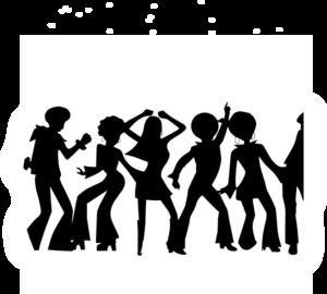 bw disco clip art at clker com vector clip art online royalty rh clker com disco clip art borders disco ball clipart