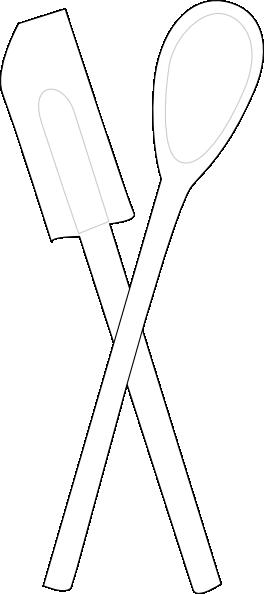 Utensils Clip Art At Clker Com Vector Clip Art Online