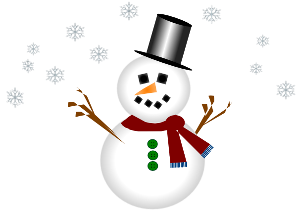 google clip art snowman - photo #50