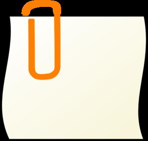Paper Clip Clip Art at Clker.com - vector clip art online, royalty ...