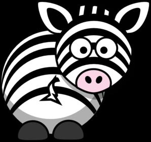 zebra clip art at clker com vector clip art online royalty free rh clker com zebra clipart free zebra clipart cute