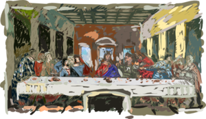 Last Supper Clip Art
