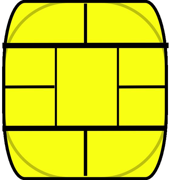 Smart Card (chip Only) Clip Art at Clker com - vector clip