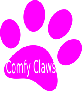 Pink Paw Clip Art