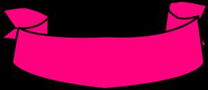 Ribbon Banner Pink Clip Art at Clker.com - vector clip art online ...