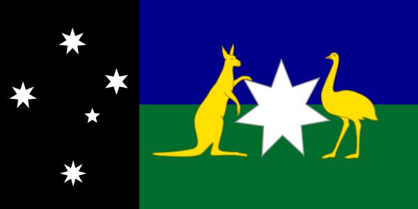 Alternate Australian Flag Clip Art at Clker.com - vector clip art ...