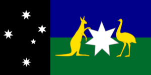 Alternate Australian Flag Clip Art