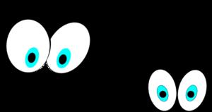 Cartoon Eyes(straight On) Clip Art at Clker.com - vector ...