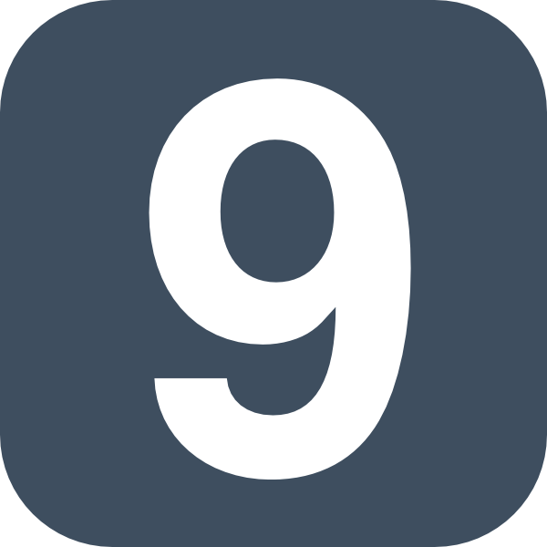 Number 2 Grey Flat Icon 9 Clip Art At Clker Com