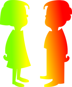 Figures Boy And Girl 7 Clip Art