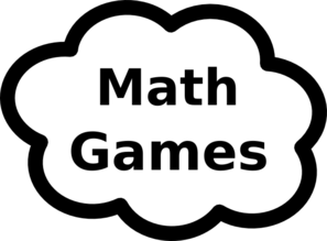 Math Games Sign Clip Art