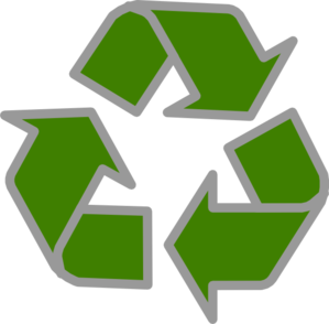 Recycle Green Grey Clip Art