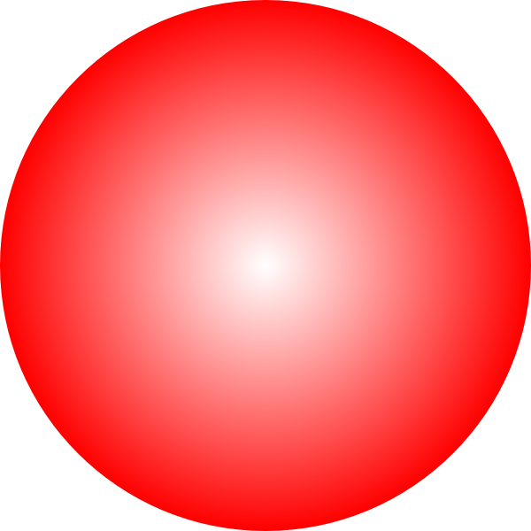 Red sphere png red ball clip art vector