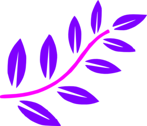 Pink/purple Branch Clip Art