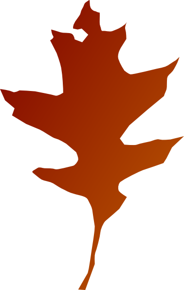 Oak Red Leaf Clip Art ...