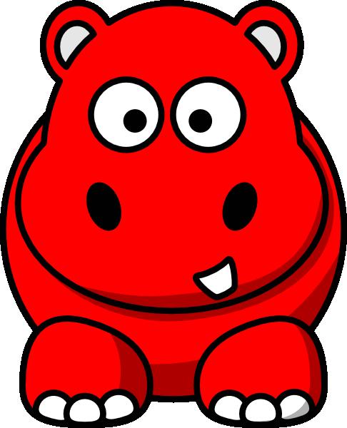 free clip art hippo cartoon - photo #39