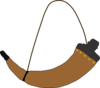 Powder Horn Clip Art