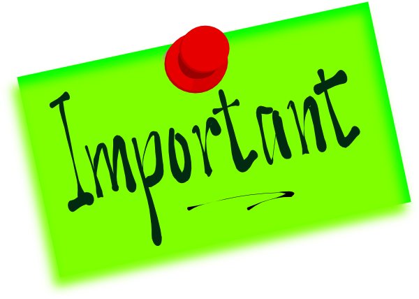 important note with pushpin clip art at clker com vector clip art rh clker com important clip art images important clip art images