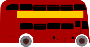 Double Deck Bus Clip Art