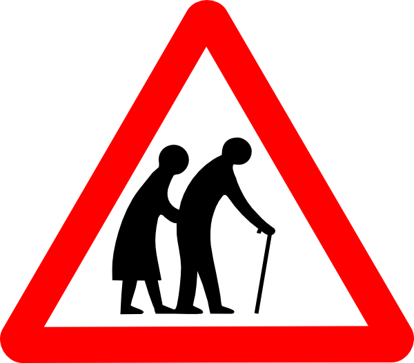 Old People Clip Art at Clker.com - vector clip art online, royalty ...