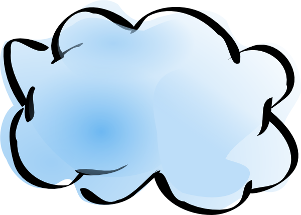 download this image as - Network Cloud Visio
