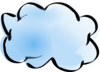 Cloud 1 Clip Art