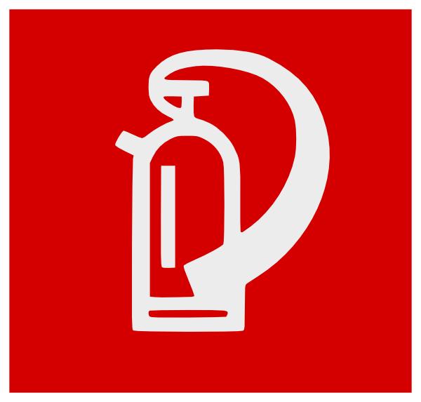 fire extinguisher clip art at clker com vector clip art online rh clker com fire extinguisher logs fire extinguisher log sheet