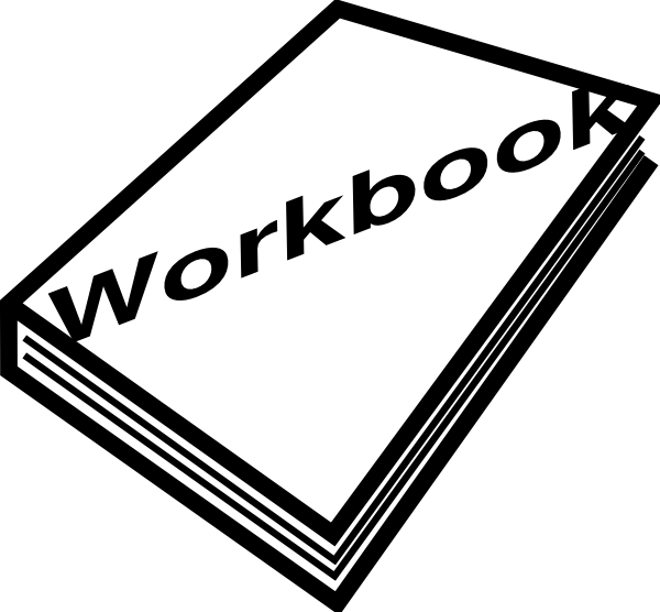 Workbook Icon Clip Art at Clker.com - vector clip art online, royalty ...