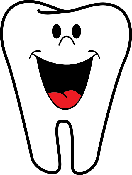 Smiling Tooth Clip Art at Clker.com - vector clip art ...