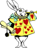 White Rabbit 2 Clip Art