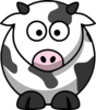 Free Cartoon Cow Clip Art Clip Art
