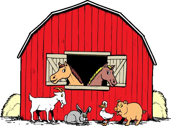 Barn Clip Art At Vector Clip Art Online Royalty Free