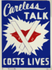 Careless Talk Costs Lives  / Al Doria. Clip Art