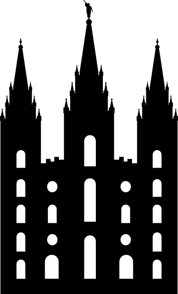 Salt Lake LDS Temple Clip Art http://www.clker.com/clipart-salt-lake-temple-silhouette-1.html
