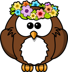 hippy owl clip art at clker com vector clip art online royalty rh clker com clip art owls free clip art owl outline