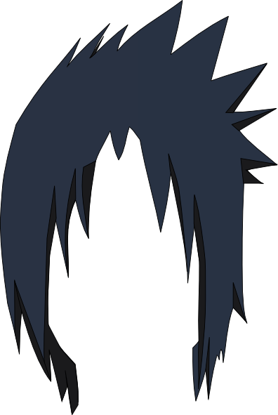 Sasuke Hair Lol Clip Art At Clker Com Vector Clip Art Online Royalty Free Amp Public Domain