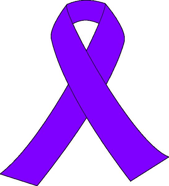purple breast cancer ribbon clip art at clker com vector clip art rh clker com breast cancer awareness symbol clip art breast cancer symbol free clip art
