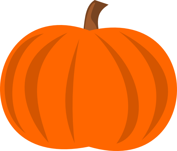 Plain Pumpkin Clip Art at Clker.com - vector clip art online, royalty ...