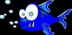 piranha blue clip art at clker com vector clip art online royalty rh clker com Piranha Logo piranha clipart