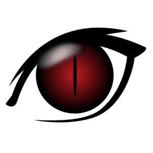Devil  Eye Clip Art